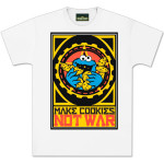 Cookie Monster Make Cookies Not War T-Shirt