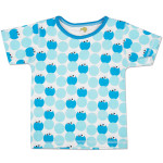 Cookie Monster Pattern Toddler T-Shirt