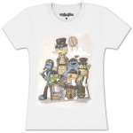 Steampunk Sesame Juniors T-shirt