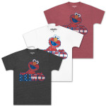 Elmo Stars & Stripes Juniors T-shirt
