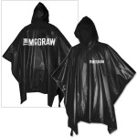 Tim McGraw Adult Hooded Poncho