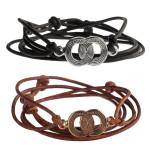 SOUL2SOUL Ladies Circle Wrap Bracelet by Diana Warner