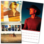 Tim McGraw 2014 Wall Calendar