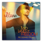 Tim McGraw 'Two Lanes of Freedom' Accelerated Deluxe Edition CD (2013)