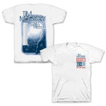 Tim McGraw Two Lanes of Freedom Tour Official Crew T-shirt