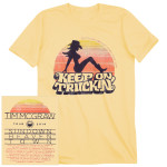 Tim McGraw Sundown Tour Mudflap T-shirt