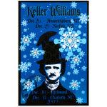 Keller Williams December 2009 Tour Poster
