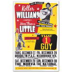 Keller Williams Dec. 27-30 2012 Tour Poster