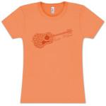 Keller Williams Ladies Guitar T-Shirt