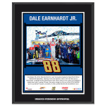 Dale Jr. 2014 NASCAR Sprint Cup Series Martinsville Race Win Sublimated 10.5'' x 13'' Plaque