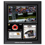 Dale Jr. 2014 NASCAR Sprint Cup Series 2014 GoBowling.com 400 Pocono Race Win Framed 15'' x 17'' Collage With Race-Used Tire