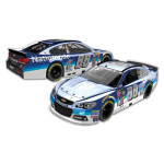 Dale Jr. #88 1:24 Scale 2015 Nationwide Chrome Diecast