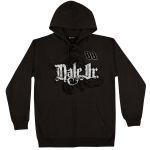 Dale Jr Full Zip Distressed Print Hoodie
