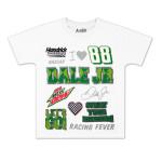 Dale Jr #88 MtDew Girls Crest T-shirt