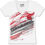 Dale Jr. #88 Ladies Lightning Fashion T-shirt