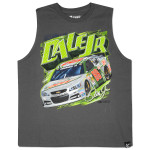 Dale Jr #88 National Guard Youth Wedge Muscle T-shirt