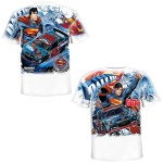 Dale Jr. - 2014 Youth Superman Total Print Tee