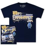 Dale Jr. #88 - 2014 Kelly Blue Book T-shirt