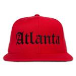 RED ATLANTA HAT