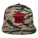 TIGER CAMO BIG BOI HAT - LOGO IN RED