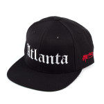 BLACK ATLANTA HAT