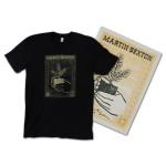 Martin Sexton 2014 Tour T-Shirt and Autographed Silkscreen Poster Bundle