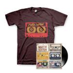Martin Sexton Mixtape of the Open Road LP/T-Shirt Combo
