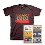 Martin Sexton Mextape of the Open Road Download/T-Shirt Combo