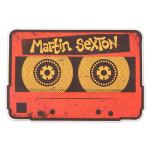 Martin Sexton Mix Tape Sticker