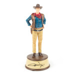 "John Wayne The Duke Resin Figurine 8.25"""