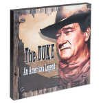 """John Wayne Legend Canvas Wall Art 15""""x15"""""""