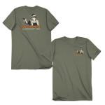 "John Wayne Old Guys Rule ""Teach Respect"" T-Shirt"