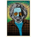 "**SOLD OUT** Jerry Garcia ""Tangled Up In Blue"" Limited Edition Print by Chuck Sperry"