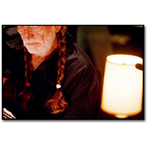 Willie Nelson Braids - Oxnard, CA - 1998