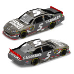 Kasey Kahne Farmers Farmers #5 1:24 Scale Brushed Metal DieCast