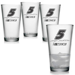 Kasey Kahne 16oz Pint Glass - Set of 4