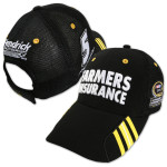 Kasey Kahne #5 Farmers 2013 Chase for Cup Cap Black OSFA