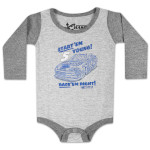 Kasey Kahne #5 Infant Race Right LS Onesie