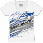 Kasey Kahne #5 Ladies Lightning Fashion T-shirt