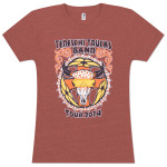 TTB 2014 Women's Spring/Summer Tour T-Shirt - Clay