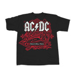 AC/DC Youth 2010 US/EUR Train T-Shirt