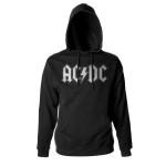 AC/DC White Logo Hoody