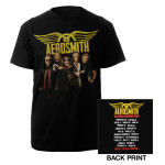 Aerosmith 2012 Global Warming Tour Tee