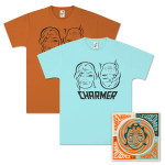 Aimee Mann Charmer CD & Men's T-Shirt Bundle