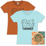 Aimee Mann Charmer CD & Women's T-Shirt Bundle