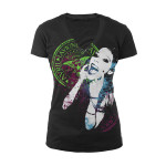 Avril Lavigne Smile V-Neck Tee