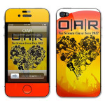 O.A.R. 2012 Summer Crush Tour iPhone Skin