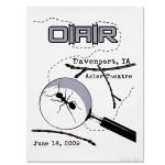 O.A.R. DAVENPORT IA - 6.16.09 ADLER THEATRE EVENT POSTER