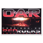 O.A.R. Morrison, CO July 15, 2012 Red Rocks Signed Poster