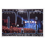 O.A.R. Columbus July 25, 2012 Lifestyles Community Pavilion Signed Poster
